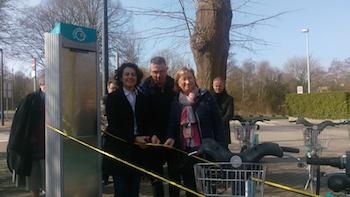 Salzinnes : nouvelle station pour le Bia Velo