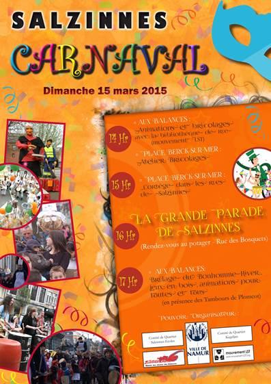 Le Carnaval à Salzinnes