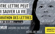 Namur et Amnesty : soutien à Su Changlan