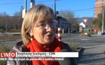 La passerelle de Jambes-Velaine : pour la Ville, c'est non