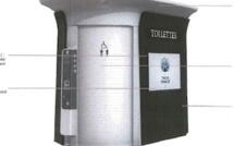 Toilettes publiques à Namur
