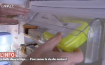 Sauver la vie des seniors avec une boîte dans le frigo