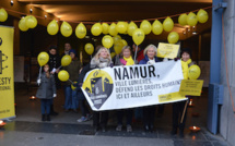 Liu Ping soutenue par la Ville de Namur et par Amnesty International