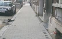 Salzinnes: réfection des trottoirs