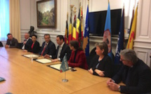 Un accord intermunicipal Namur-Prishtina