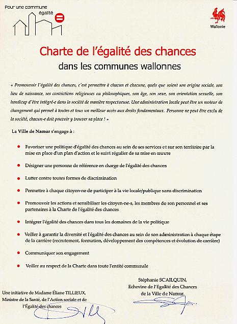 Namur Charte Egalite des Chances_all